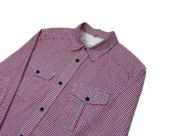 Adidas Originals Gingham Shirt As New