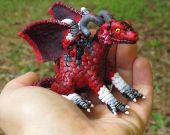 Miniature Pet Dragon #MHR7 - Ash Paw