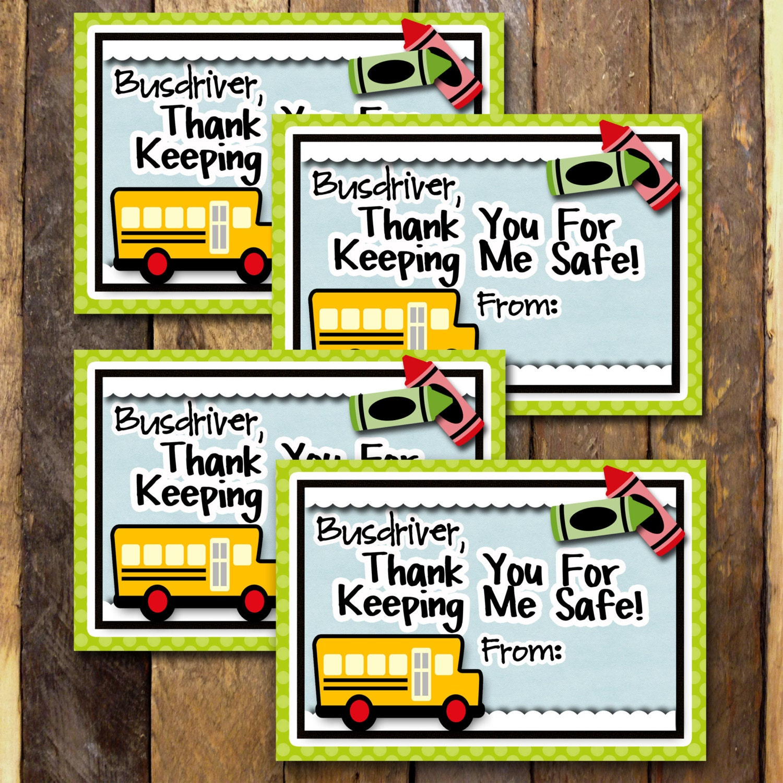 School Bus Driver GiftTeacher Appreciation Gift Teacher