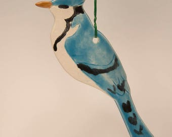 Blue Jay - Ceramic Ornament