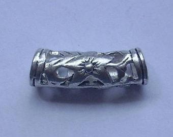2 beads tube spacer - 2 cm
