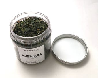 DRIED NETTLE LEAVES - Apothecary Herbs - Dried Ayurvedic Herbs - Bath Tea - Facial Steam - Herbs for Hair - All profits donated to charity