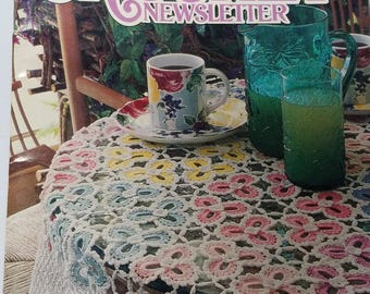 Annie's Crochet Newsletter magazine Jan-Feb 1994 fully illustrated crochet patterns 47 pages