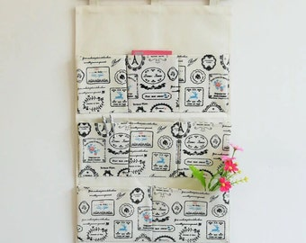 Hamper cloth bag, hanging bag ,series connection bag ,key storage bag