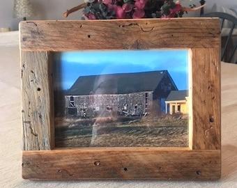 Barn Board Picture Frame
