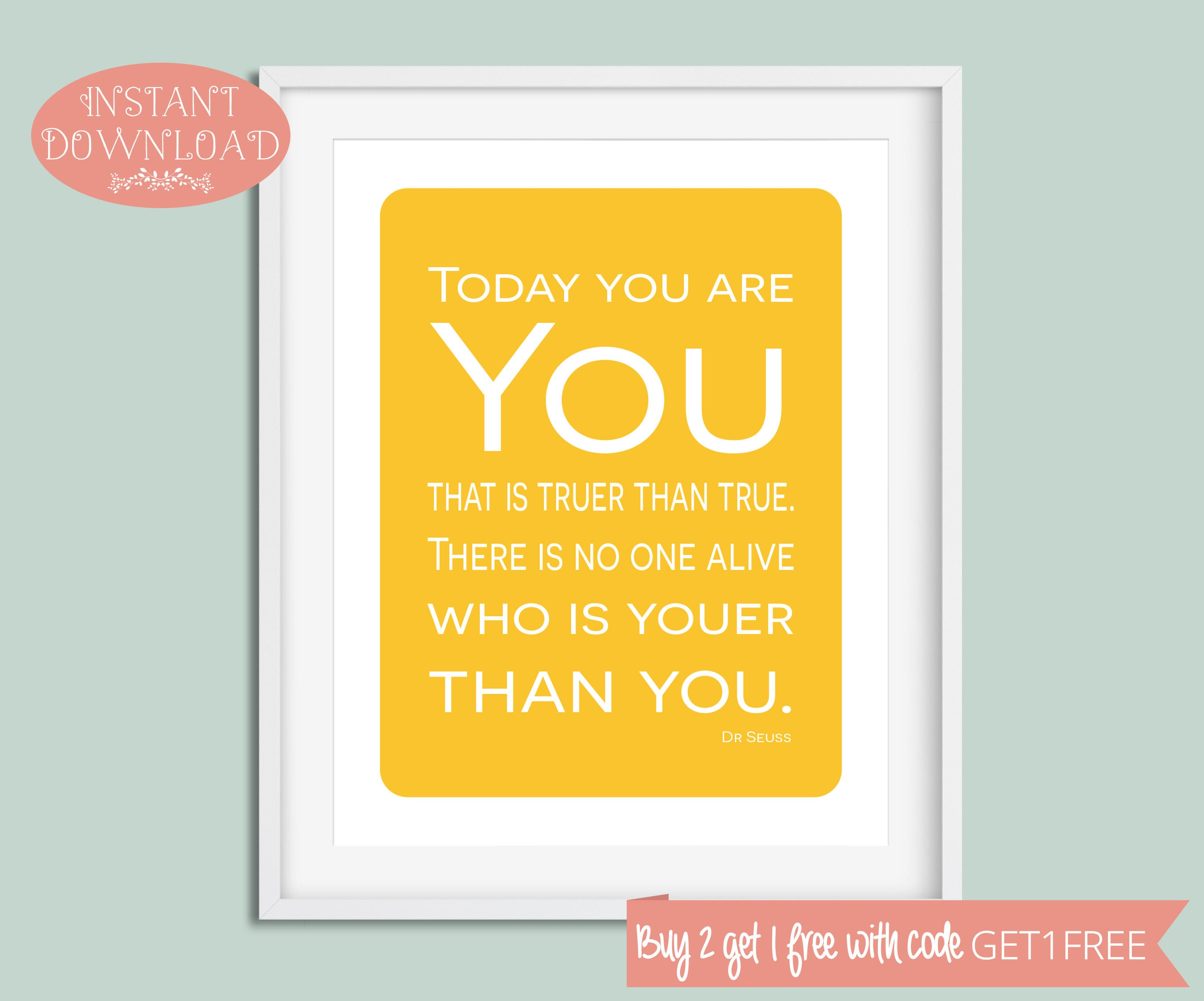 Funky Dr Seuss Quotes Wall Art Crest - Wall Art Collections ...