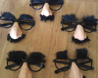 80s Groucho Marx glasses with nose and eyebrows