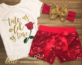 Tale as Old as Time Beauty and the Beast Insipired shirt/onesie