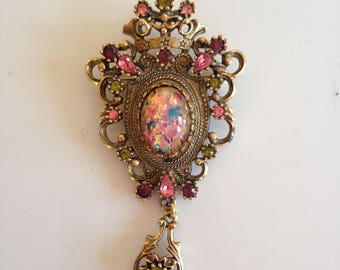 Sarah Coventry Brooch/Pin/ Pendant Vintage  FREE SHIPPING