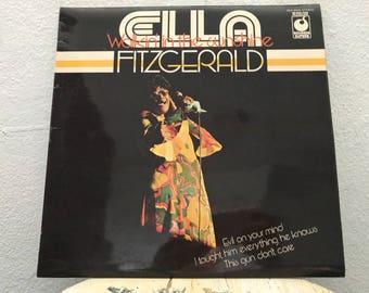 "Ella Fitzgerald - ""Walkin' In The Sunshine"" vinyl record"