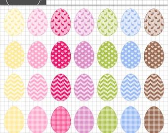 Easter Egg Clip Art,Easter ClipArt,Easter Bunny Clip Art,Digital Clipart,Digital Scrapbook,Scrapbooking Embellishment,Card Maki