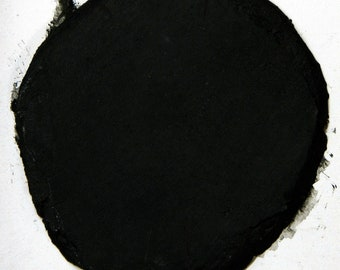Sample Size Deep BLACK 1/2 Pound Mosaic Tile Sanded Grout Polymer Fortified Interior Exterior Just Add Water