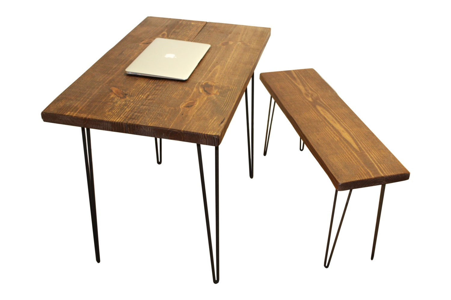 Beautiful Zoom With Rustic Wood Desk.