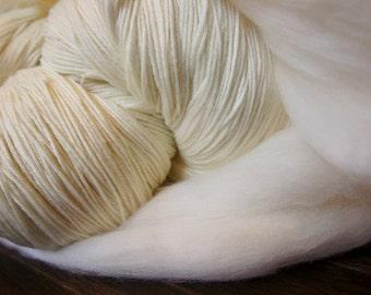 Monthly Fiber Club 200g of Merino Wool Yarn or Roving