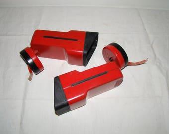 Red modern applique