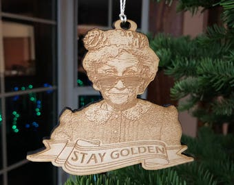 Stay Golden Ornament