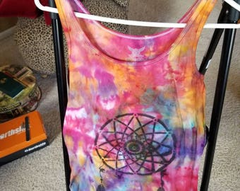 Dreamcatcher ice dye