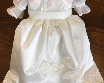 Wedding Doll Dress - Vintage Lace - American Girl Doll Clothes