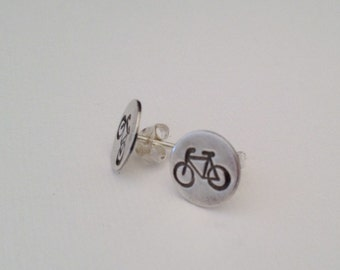 Bicycle Earrings, Bicycle Jewelry, Bike earrings