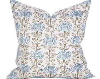 Samode pillow cover in Indigo