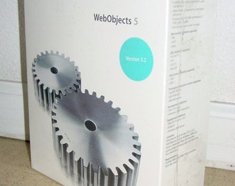 Apple Mac Web Objects 5, Version 5.2 Old Version 2002 M8789Z/A w/ Developer Software