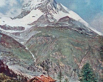 Autochrome Photo, The Matterhorn from Riffel, 1907-10