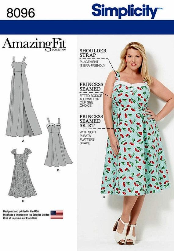 Sewing Pattern Women\'s Sundress Pattern Women\'s