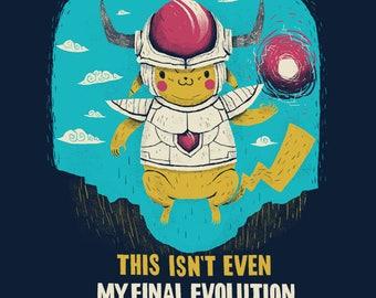 this isn't even my final evolution Pokemon T-shirt / pikachu shirt / funny cute nintendo tee / this isn't even my final form / memes