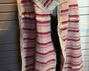 Long Wool Scarf Stole
