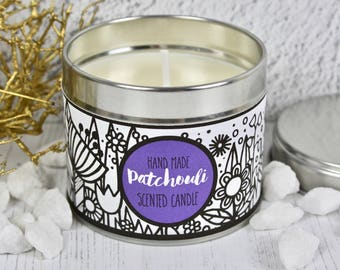 Hand Made Patchouli Candle