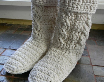 Crochet Boots Pattern - Mamachee Boots (Adult Women Sizes)