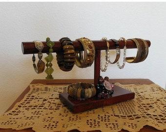 Spring Sales Event Rustic Cuff, Bracelet Display, Bracelet Holder