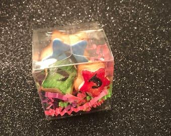 Mini Star Shortbread Cookies
