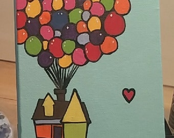 Up House with Balloons, MADE TO ORDER