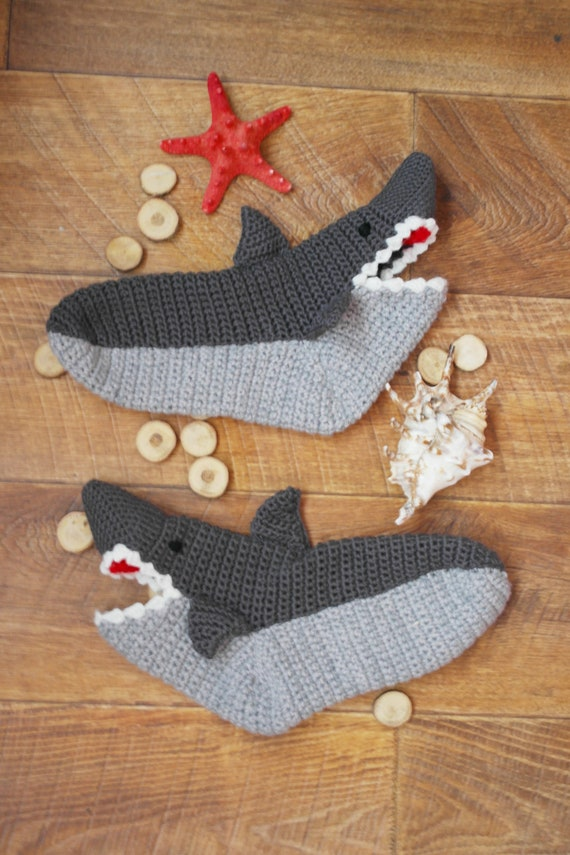 Shoe Handmade Slippers gift Slippers Sizes for gift for woman Adult her women Socks Womens Slippers House Shark gift for girlfriend Shoes qRw14tga