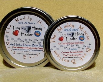 1.5 oz  All Natural Herbal Diaper Balm