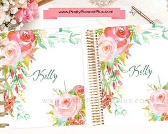 CUSTOM Printable Planner Cover Set, for use with Erin Condren LifePlanner™ and The Happy Planner®, Ref. C13