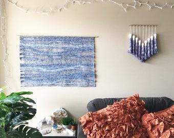 woven wall hanging, yarn wall hanging, wall weaving, weaving, macrame wall hanging, woven tapestry, bohemian tapestries, neutral wall decor