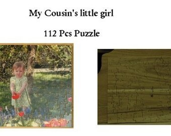 Wooden Heirloom Jigsaw Puzzle