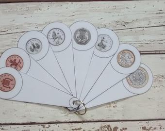 Coin fan, money fan, teach money, teaching resource for classroom, EYFS SEN, identify coins, coin recognition, visual resource for classroom