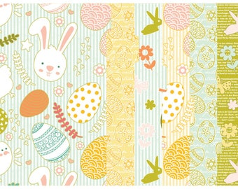 Happy Easter Set of 6 Tabbed Dividers