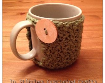 Textured Coffee Mug Cozy