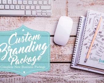 Custom Business Branding Package, Custom Logo, Original Design, Stationery Design, Business Logo, Graphic Design, Logo Design