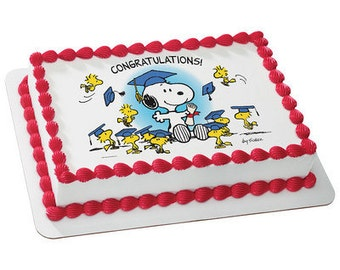 Snoopy cake topper Etsy