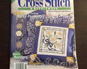 Cross Stitch & Needlework Magazine June 1999 Better Homes and Gardens Cross Stitch Patterns Needlework