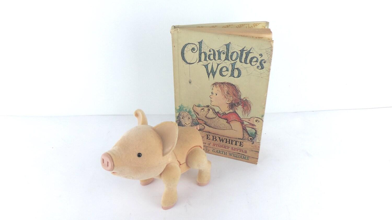 Charlotte de Web y hablando cerdo paquete juguetes tecnología