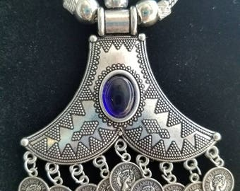 Kuchi pendant, large pendant, India pendant, ethnic pendant, boho pendant, hippie pendant, festival pendant, gypsy pendant, gifts for her