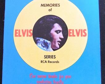 Vintage Elvis Presley 1970's Record Catalog Vintage Memorabilia Ephemera