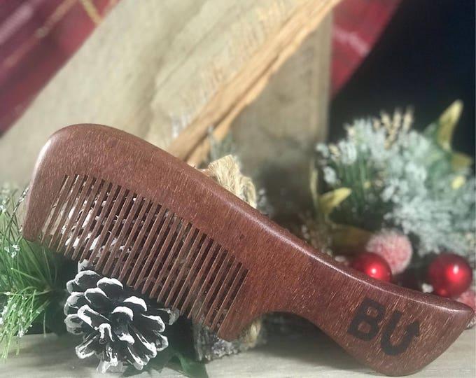 Red Sandalwood Beard Comb