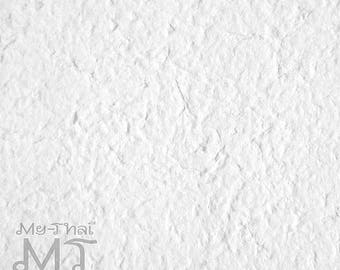 10 sheets A4 White Mulberry Paper Handmade for scrapbooking, flower making, card making, invitation
